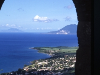 Brimstone Hill archway view-St. KItts
