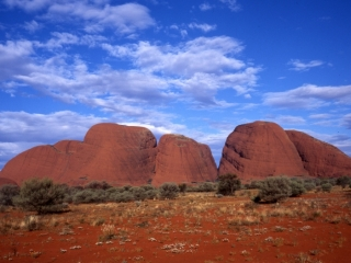 Olgas 'Many Heads'-Australia