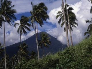 Volcano-Minahasan Highlands, Indonesia