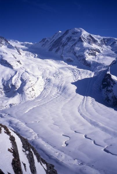 Glacier between Rothorn & Stockhorn-Zermatt