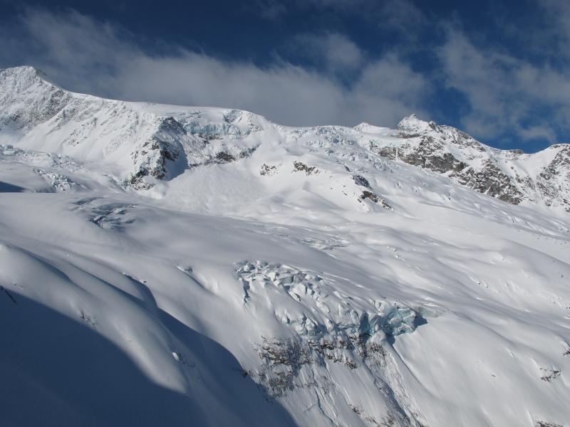 Glacier edge-RK Heliski, Panorama