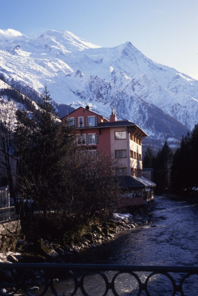 Interlaken & surrounding mountains-Switzerland