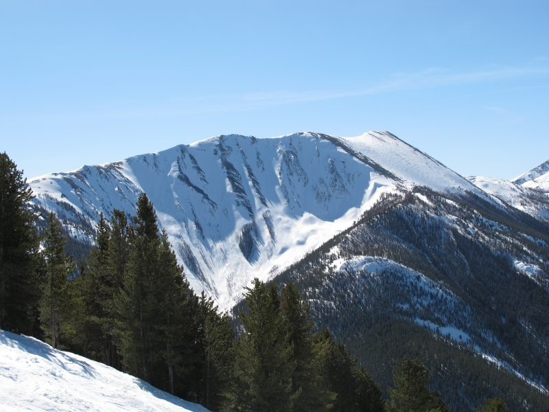 Purcell Mountains-Panorama, British Columbia