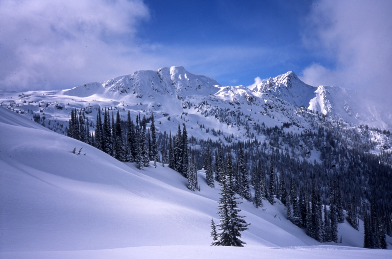 Selkirk Mountains-Great Northern, British Columbia