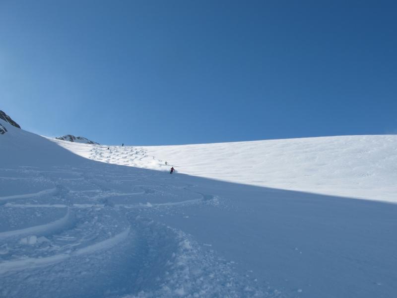 Ski tracks-RK Heliski, Panorama