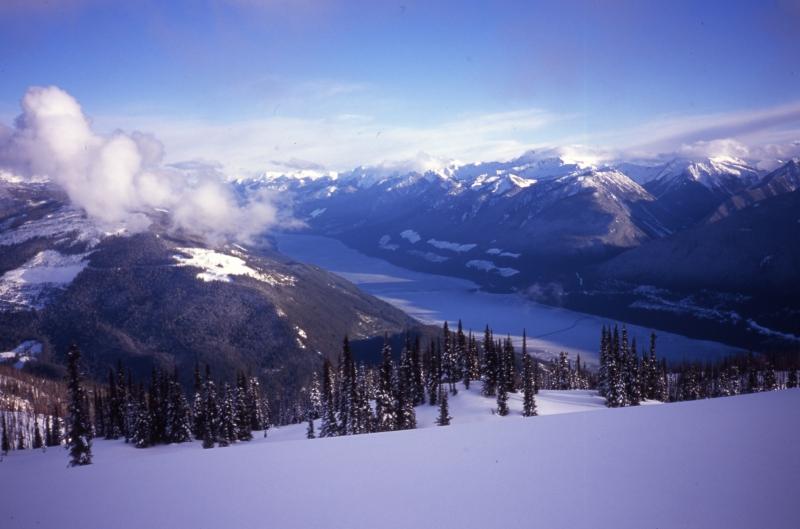 Trout Lake-Selkirk Mountains, British Columbia