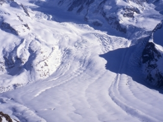 Glacier between Rothorn & Stockhorn-Zermatt