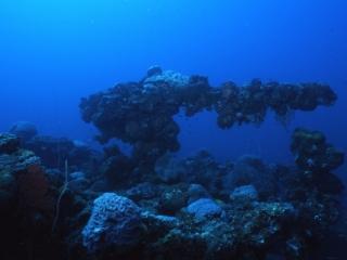 Gun on Unkai Maru-Truk Lagoon