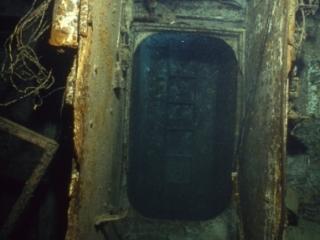 Oro Verde wreck interior-Grand Cayman