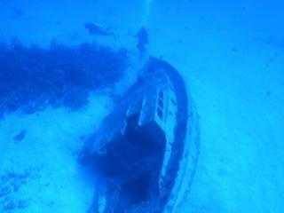Small wreck-San Andreas Island
